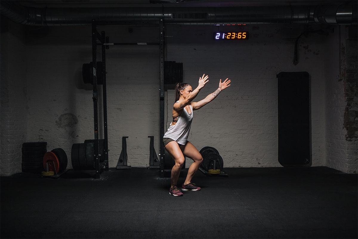 air squat richtig ausführen mitte