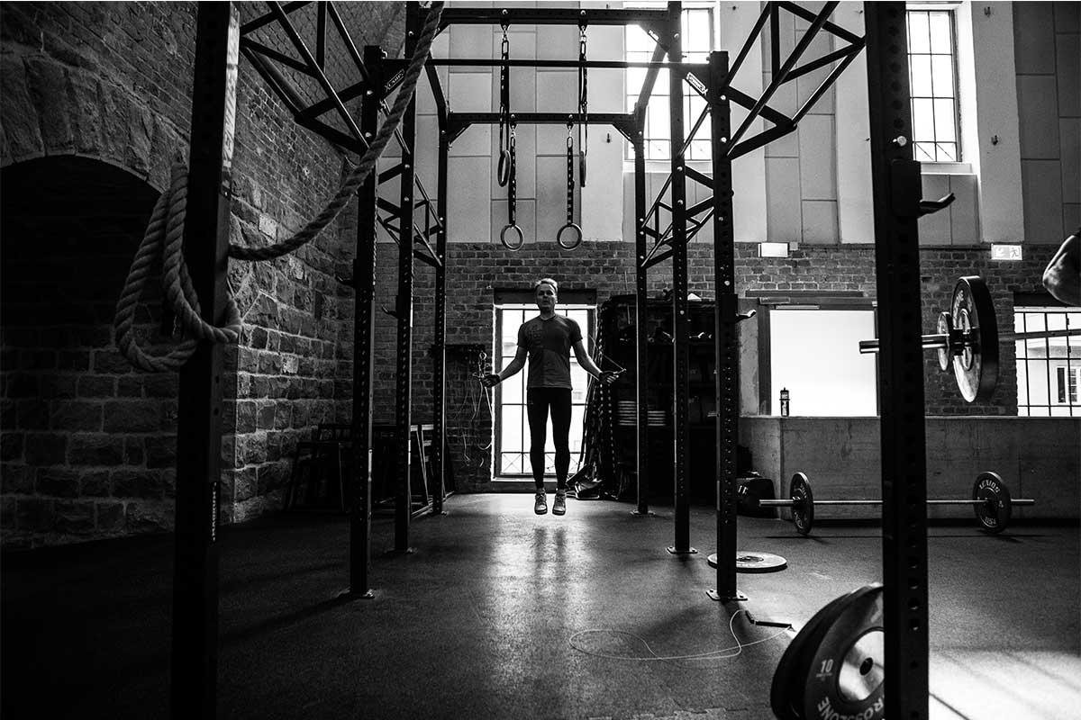 Richtiges Aufwärmen beim CrossFit Sprinschnurspringen