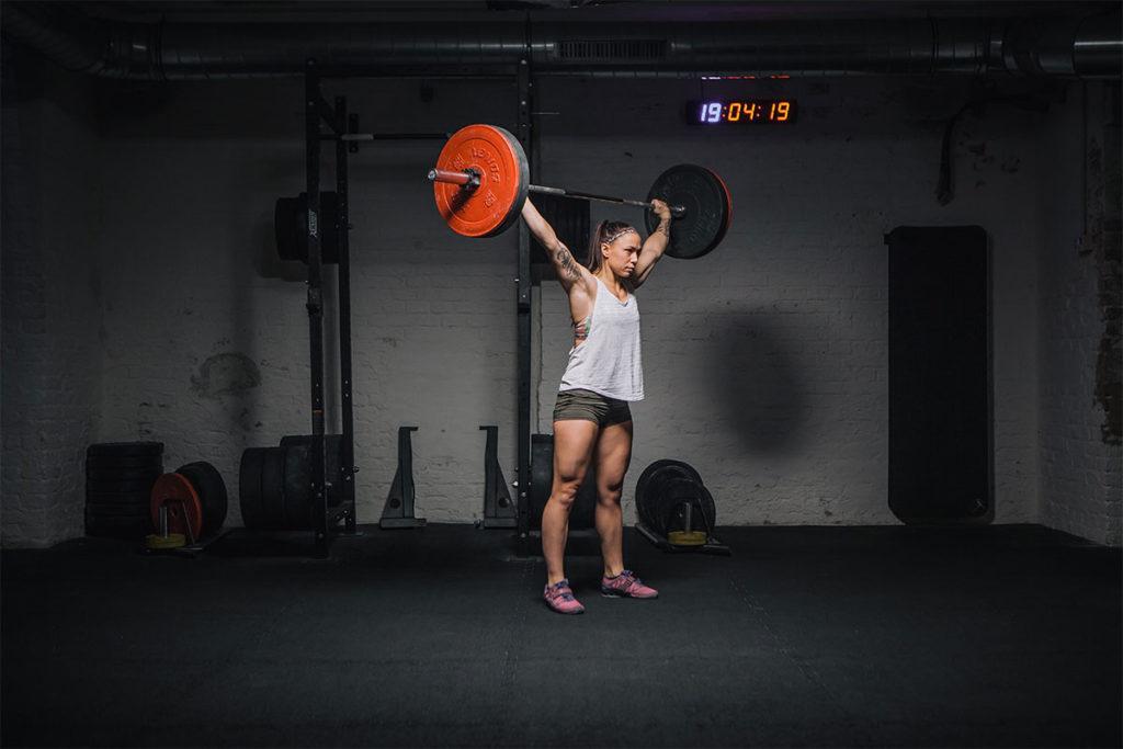 overhead squat richtig ausführen
