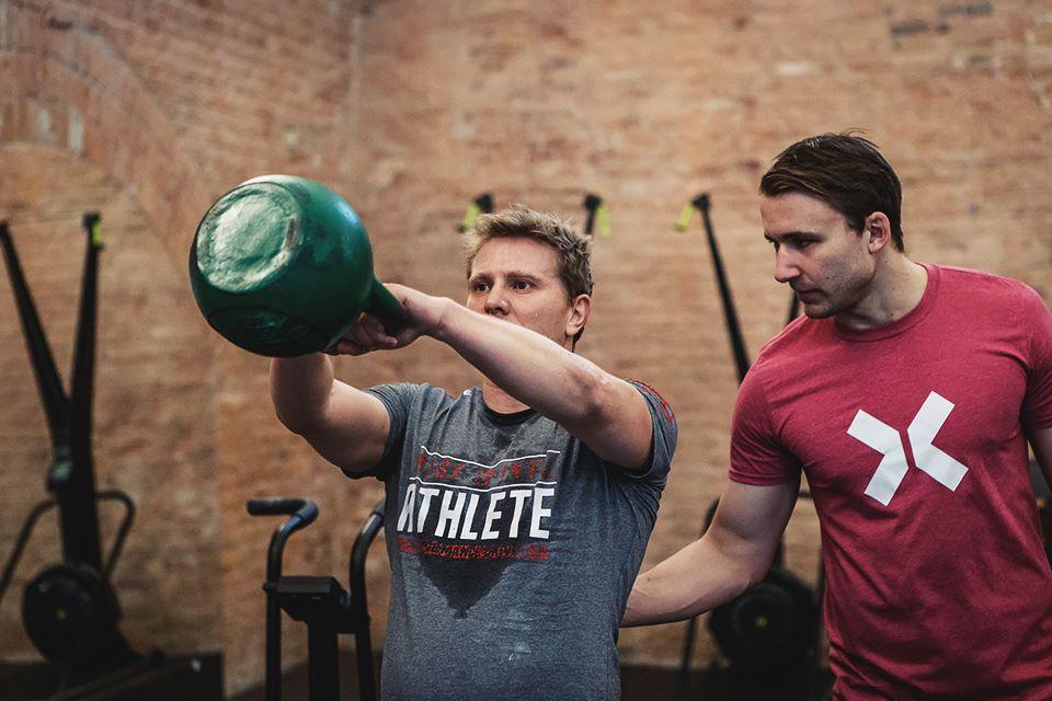 Lukasz Dyminski 30 days crossfit challenge kettlebell