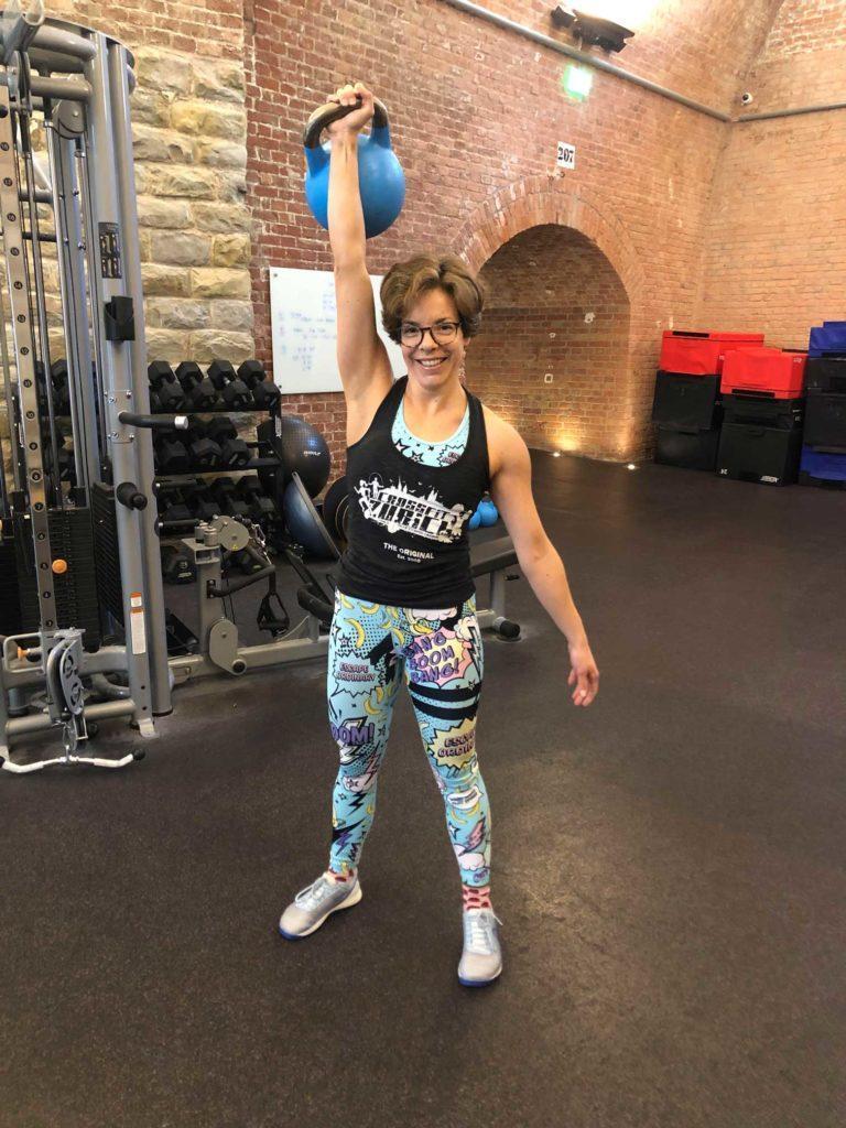 elisabeth 30 days crossfit challenge kettlebell