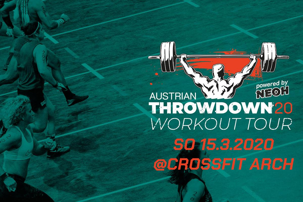 austrian throwdown workout tour 2020