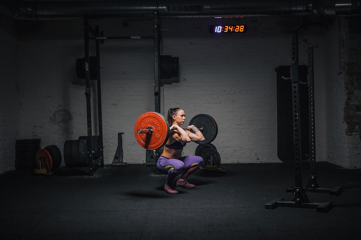Howto Front squats richtig ausführen tief