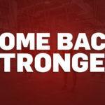 #Comebackstronger