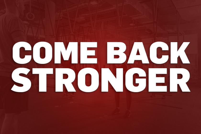 Zone.fit | #comebackstronger
