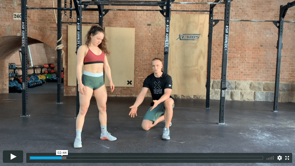 howto burpee video screenshot