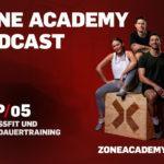 Ausdauertraining und CrossFit – Zone Academy Podcast Folge 5