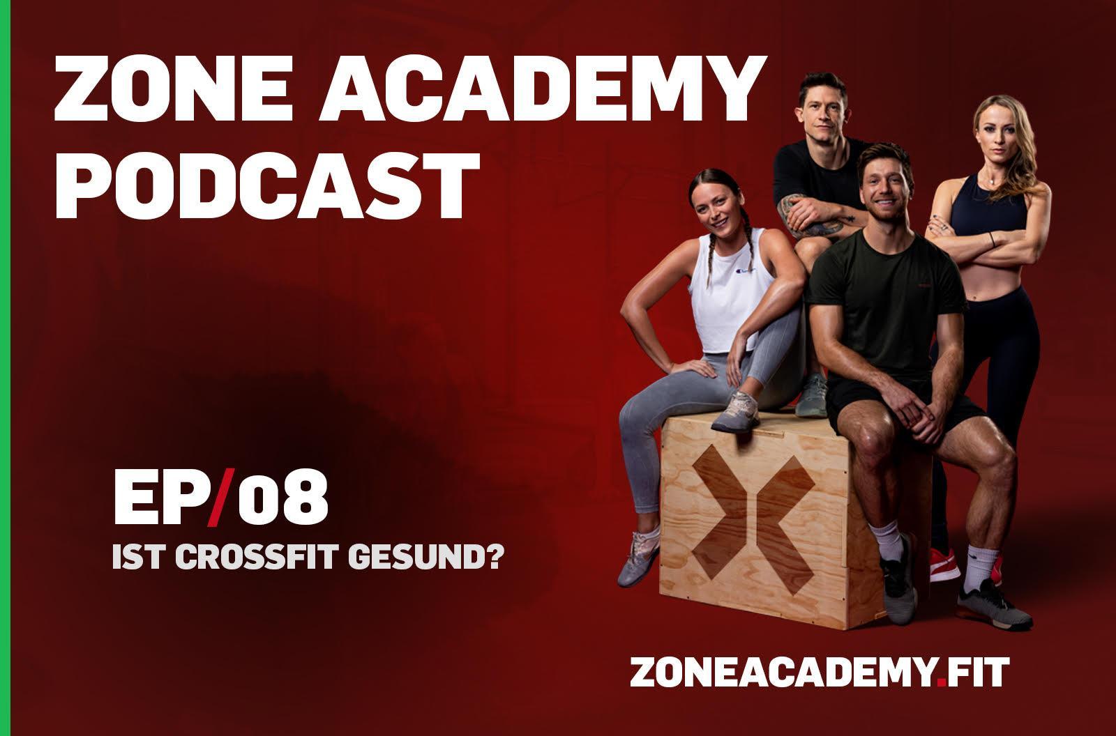 ist crossfit gesund podcast titelbild zone