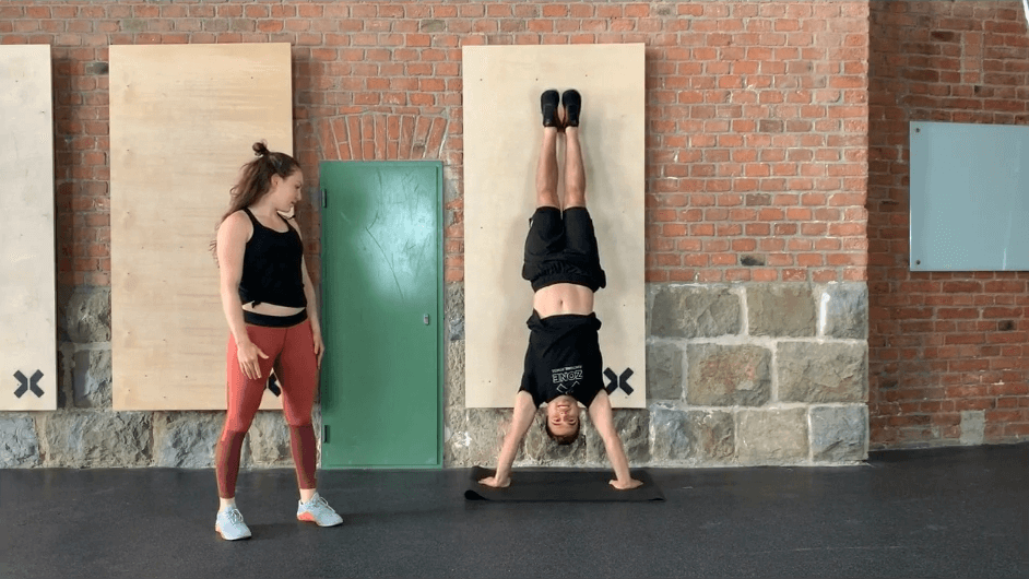 Handstand Push Up lernen Howto Anleitung