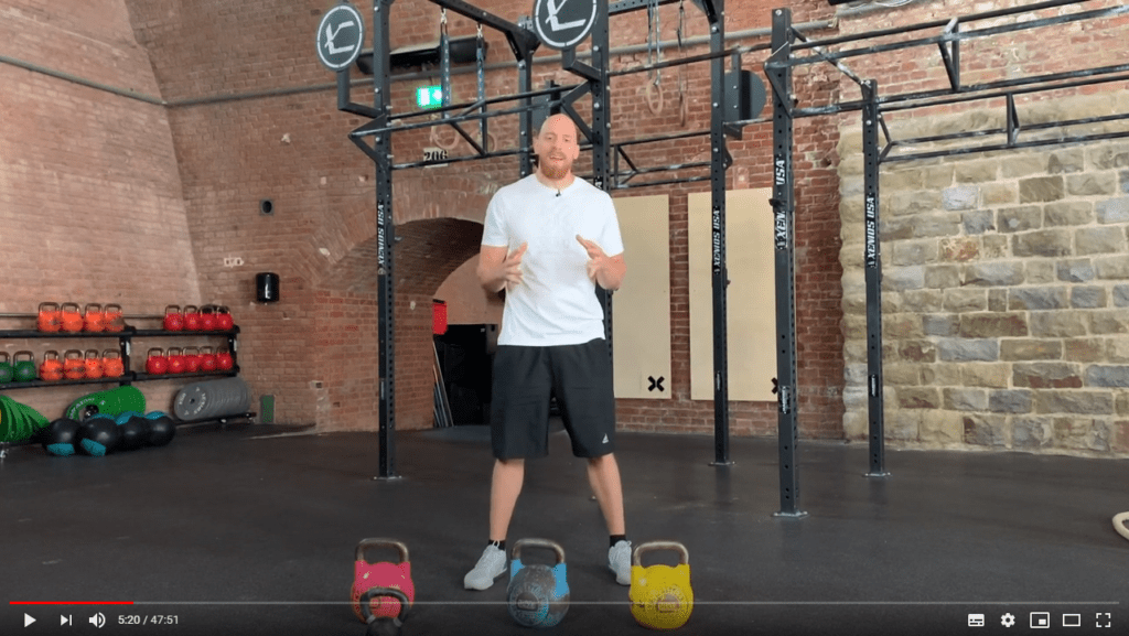 kettlebell clean and jerk how to