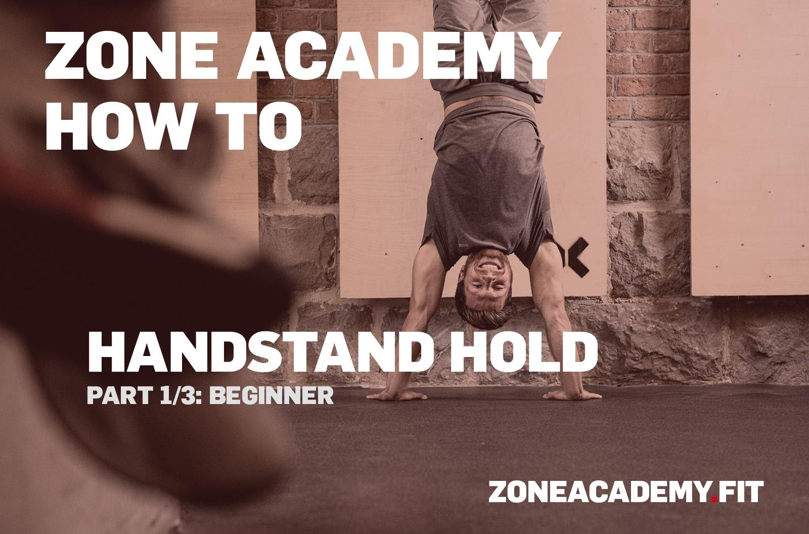HOWTO HANDSTAND HOLD