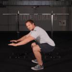 Kniebeuge verbessern durch Sprunggelenksbeweglichkeit