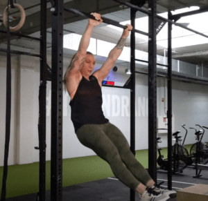 hollow position kipping pull up