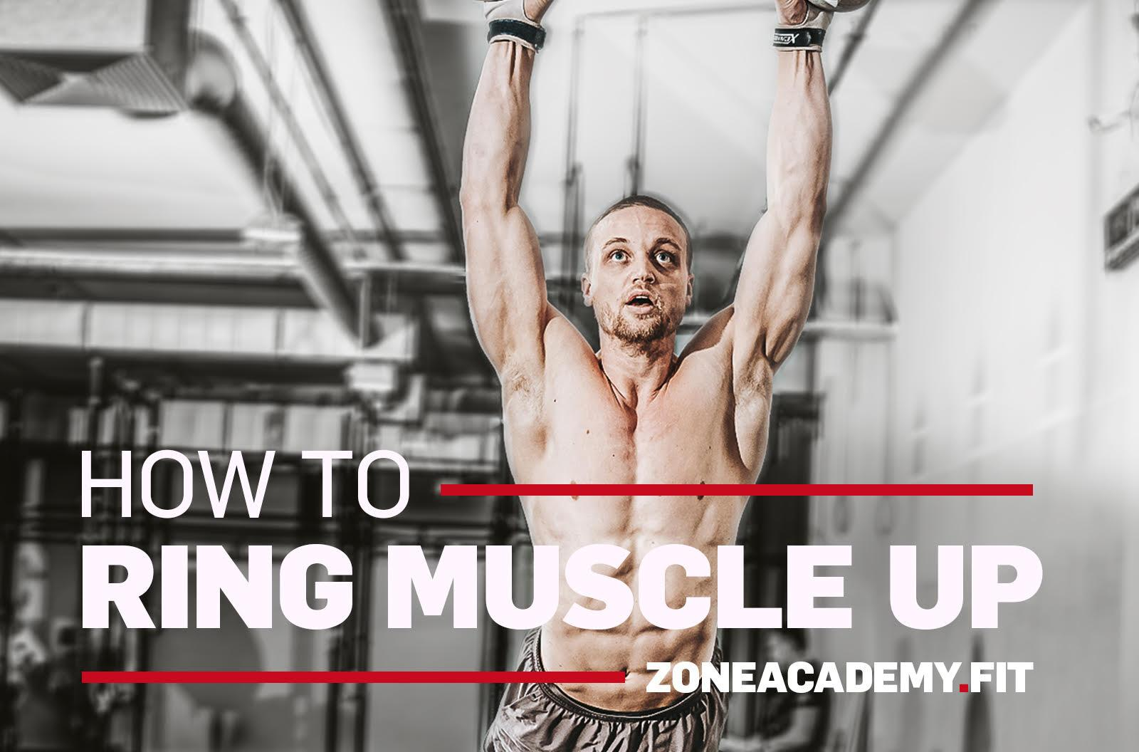 howto ring muscle up lernen