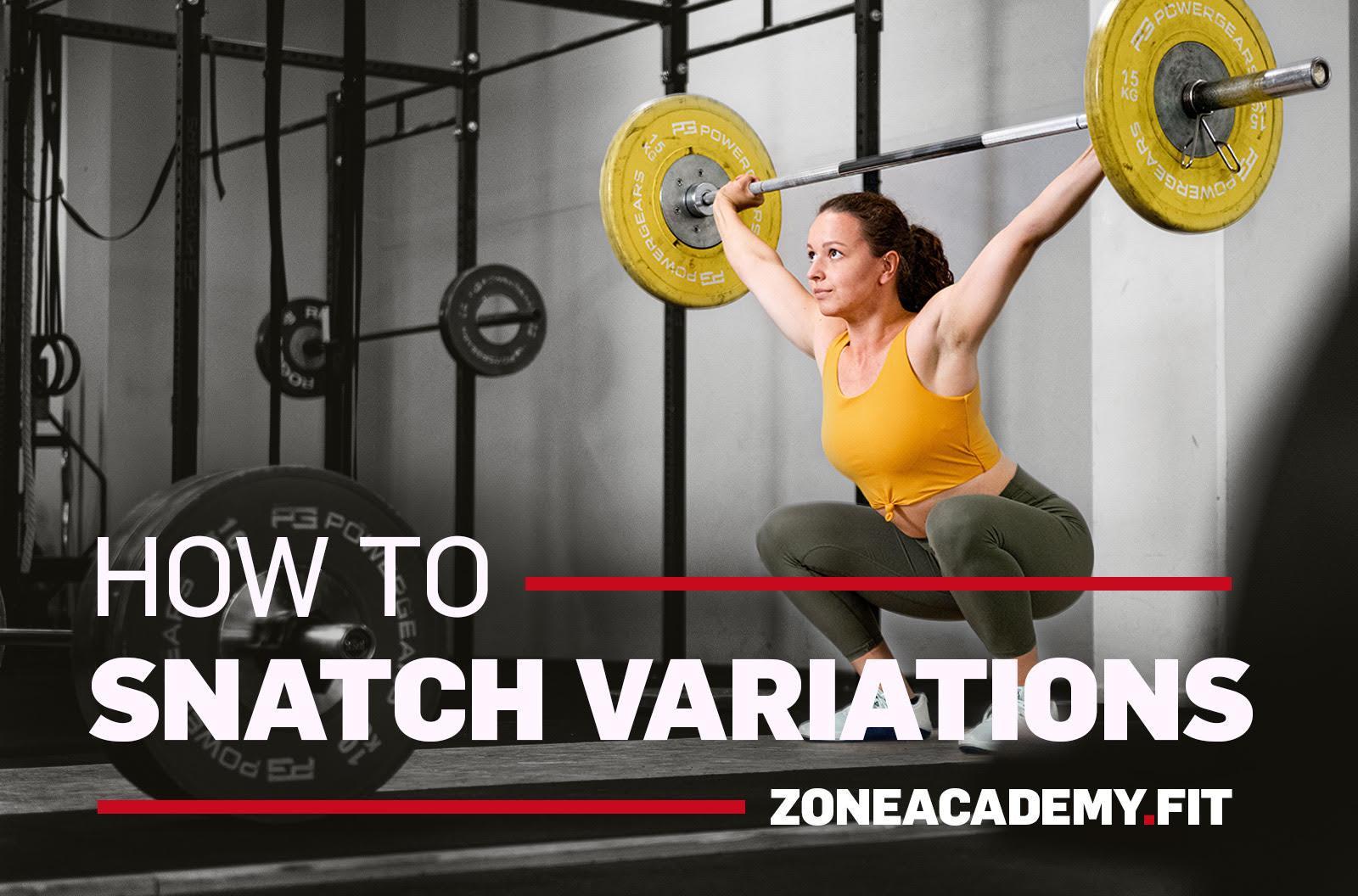 howto snatch varianten gewichtheben lernen