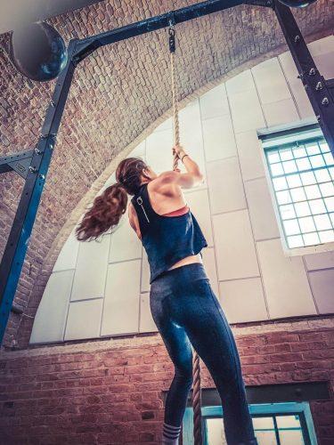 Seilklettern CrossFit Wien